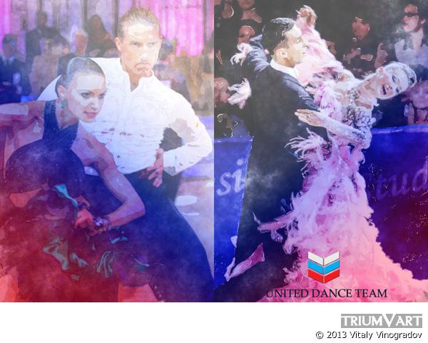 United Dance Team эскиз 2