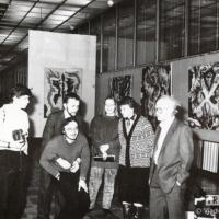 выставка в ЦДХ  справа В.Зубарев