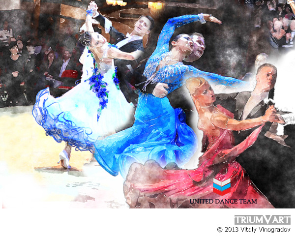 United Dance Team эскиз 1