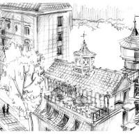 Внешний вид со 2-ой Тверской ул.